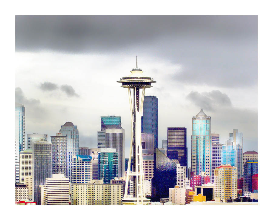 Seattle Custom Framing - Seattle...From Where I See It -