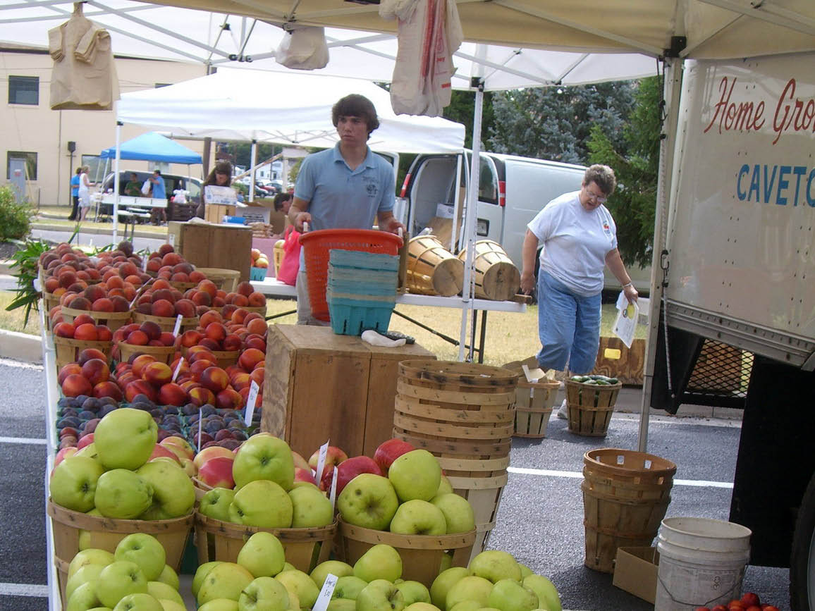 Lewis' Orchards Logo, Produce, Fresh, Vegetables, Fruits, Farmers Market, Fruit Stand