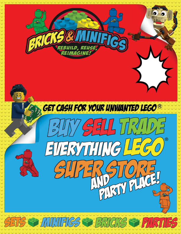 Buy, sell or trade anything LEGO at our Omaha super store