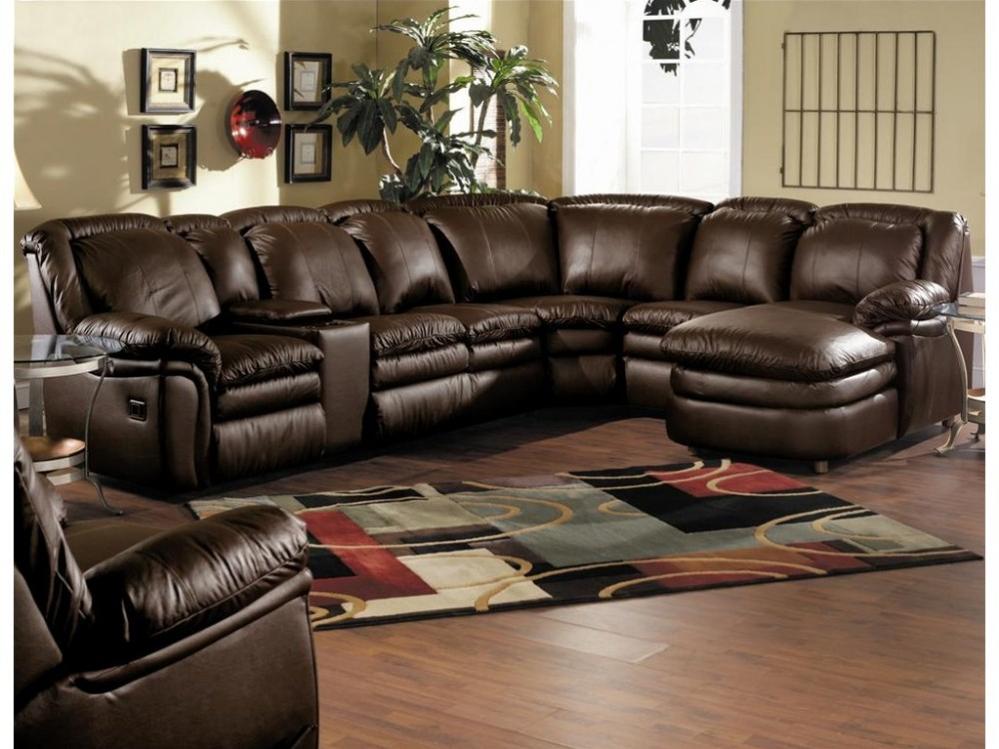 5 piece Lane Leather leather match set.