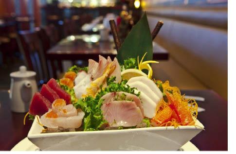 Sashimi From Fu Sha Sushi Bar in Parsippany NJ