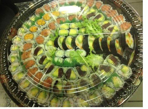 Party Tray from Fu Sha Sushi Bar in Parsippany NJ