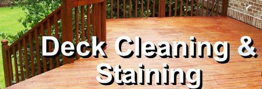 Deck Cleaning and Staining by Gary's Deck Cleaning in Livonia, MI
