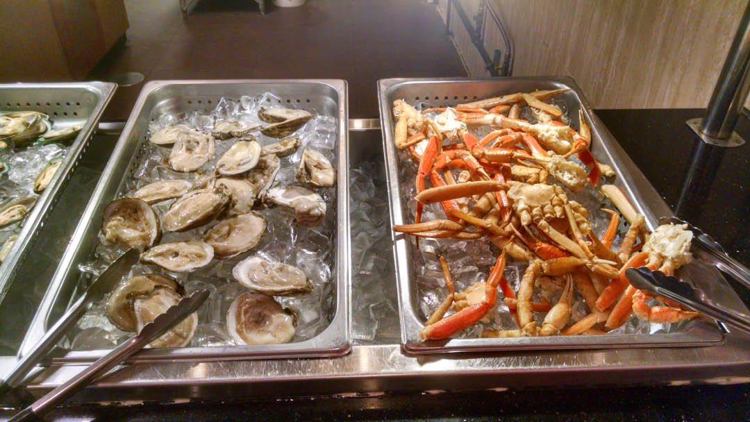 All you can eat delicious crabs, crawfish, clams, oysters