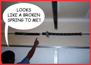 GDX, LLC fixes broken garage door springs - they service all of Western Washington