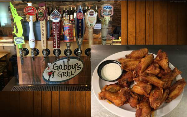 Choose from a wide selection of beers on tap and appetizers.