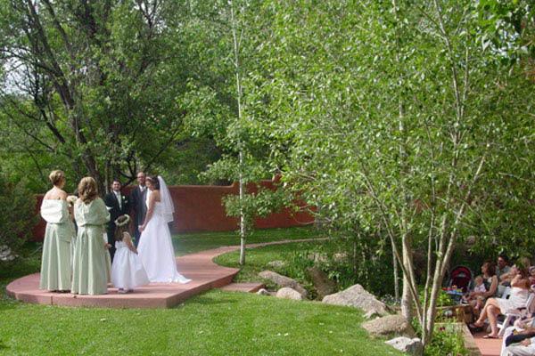 Wedding at The Strausenback Pavilion Colorado Springs