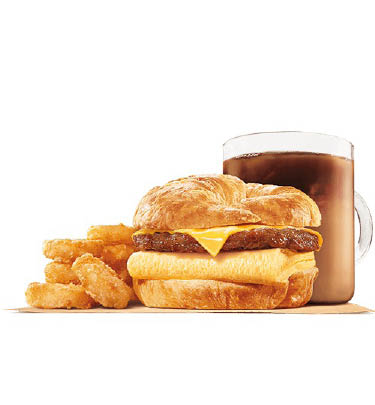 Getting started in the morning with a Croissan'wich is a sure way to feed your body the breakfast it needs to have a productive day.  Couple that with a coffee and potato and you are filled up until lunch at all Greater Rockford locations.