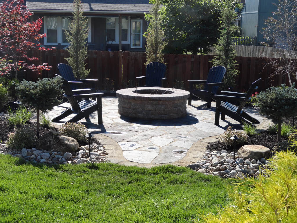 landscaping retaining wall,Fire pit