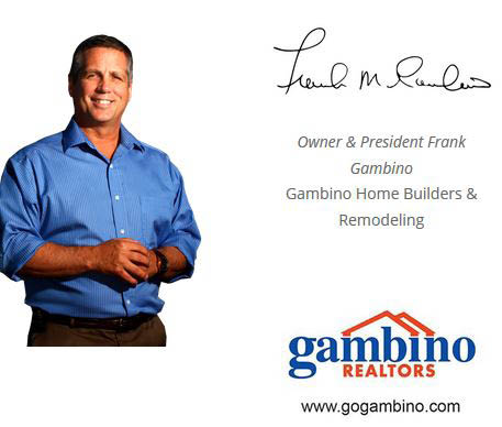 Gambino Building & Remodeling Affordable Kitchens & Baths. Call Frank Gambino for all of your full service remodeling needs  (815) 637-0113