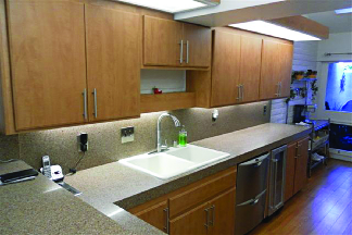 Restore your kitchen cabinet with resurfacing