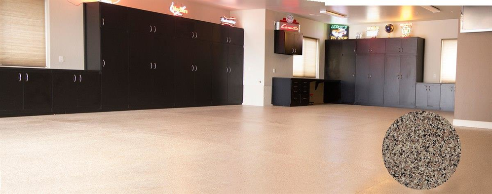 Your garage will look amazing after Garage Floors and More refinish it.