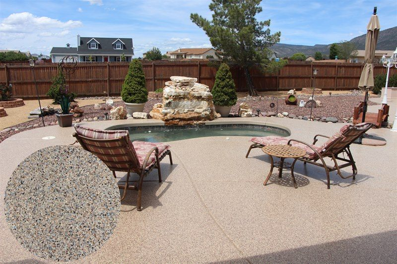 Have your patio completely remodeled with Garage Floors and More in Arizona.