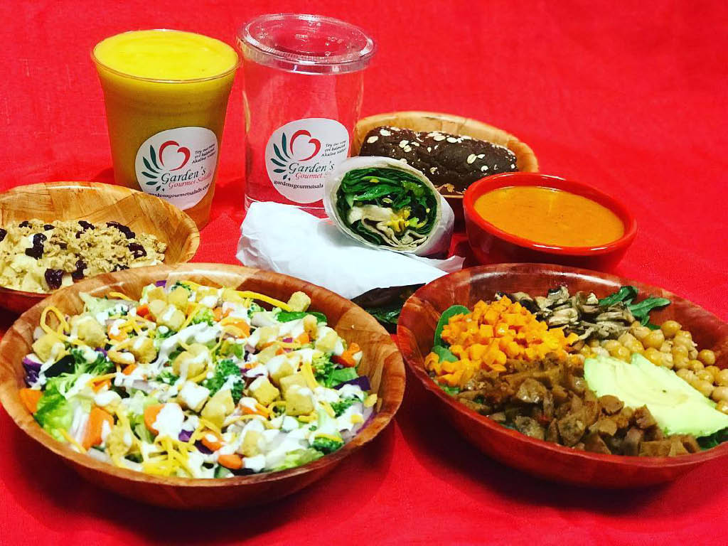Garden's Gourmet Salads in Tacoma, Washington offers fresh, healthy and delicious food - create your own salad - healthy food - fresh food - dining near me