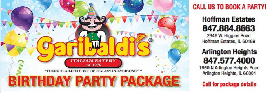 Garibaldi's Italian Eatery in Hoffman Estates, IL  banner