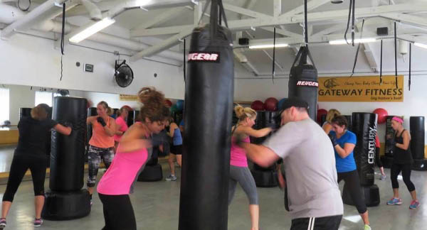 Freestyle boxing at Gateway Fitness in Gig Harbor, Washington - Gig Harbor health clubs - fitness classes in Gig Harbor, WA - Gig Harbor health clubs
