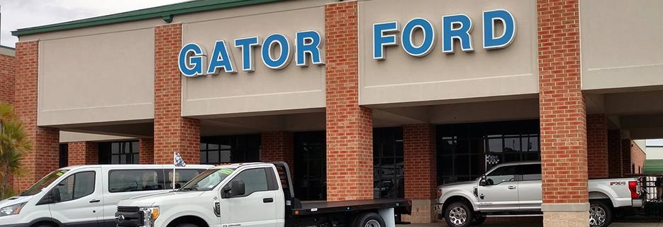 Gator Ford banner Seffner, FL