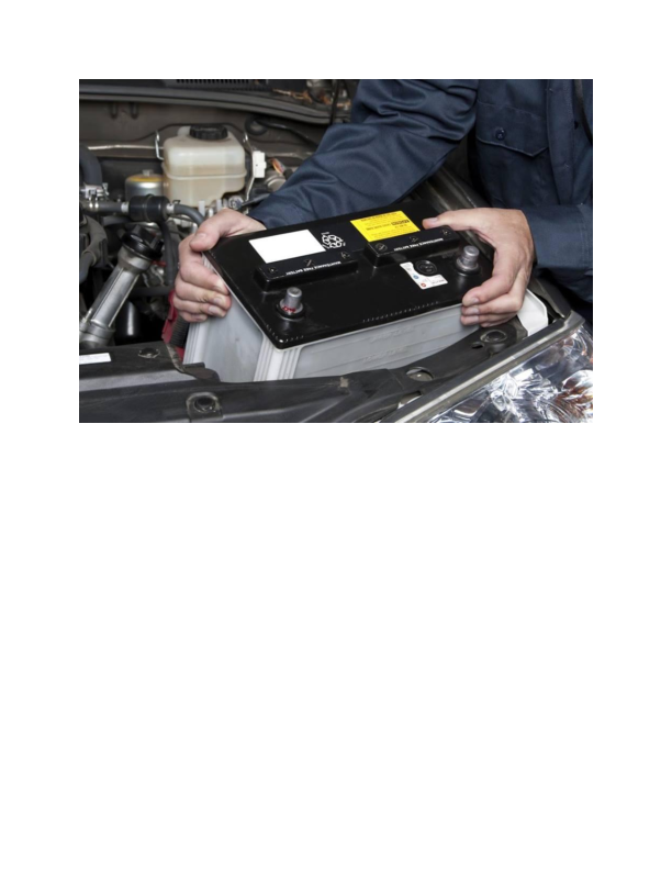 Battery service at Geller's Automotive in Byram NJ