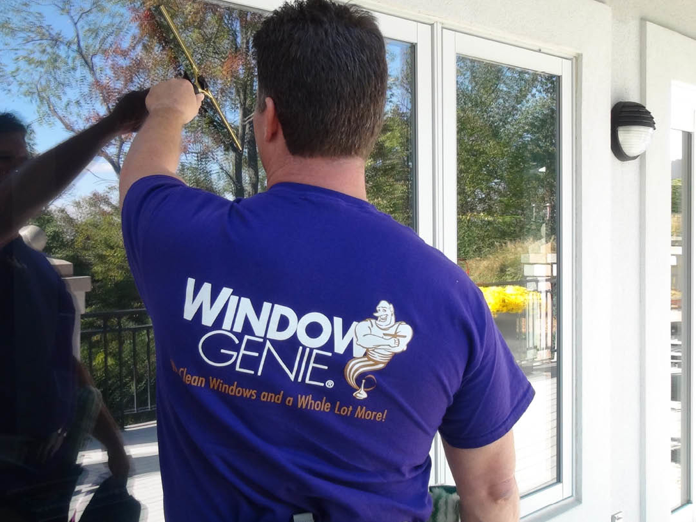 Gutter Clean Out Louisville Kentucky Window Genie Can Ly Film To Your Home S Windows