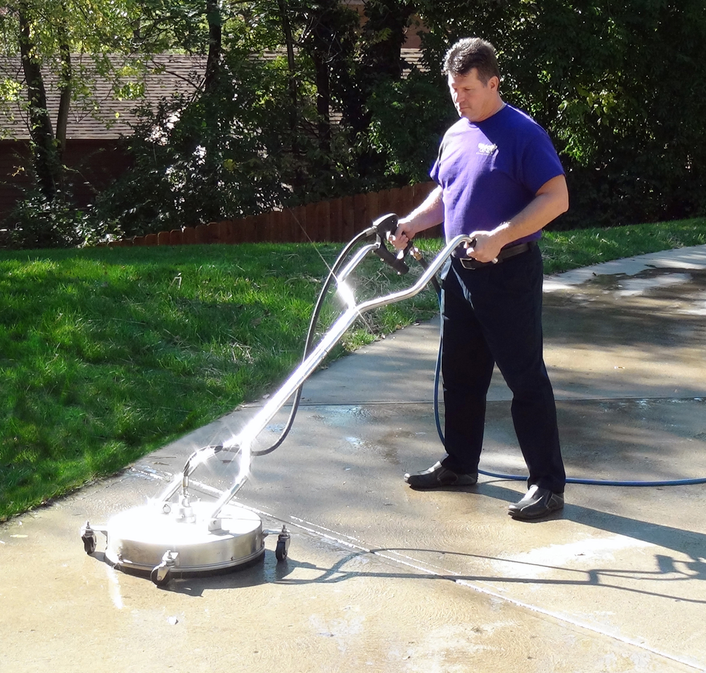 concrete cleaning and sealing the poconos
