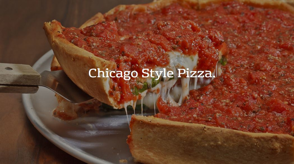 chicago style pizza in Elgin, IL