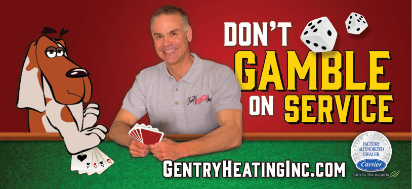 Gentry Heating Inc. helps feed the community by supporting Swannanoa Christian Ministries.