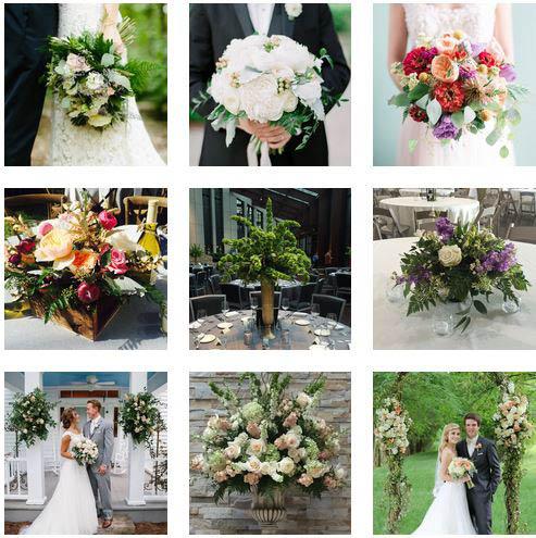 wedding flowers, floral arrangements