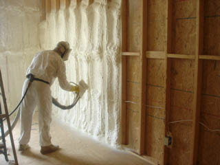 Spray foam insulation can reduce you home heating and cooling costs