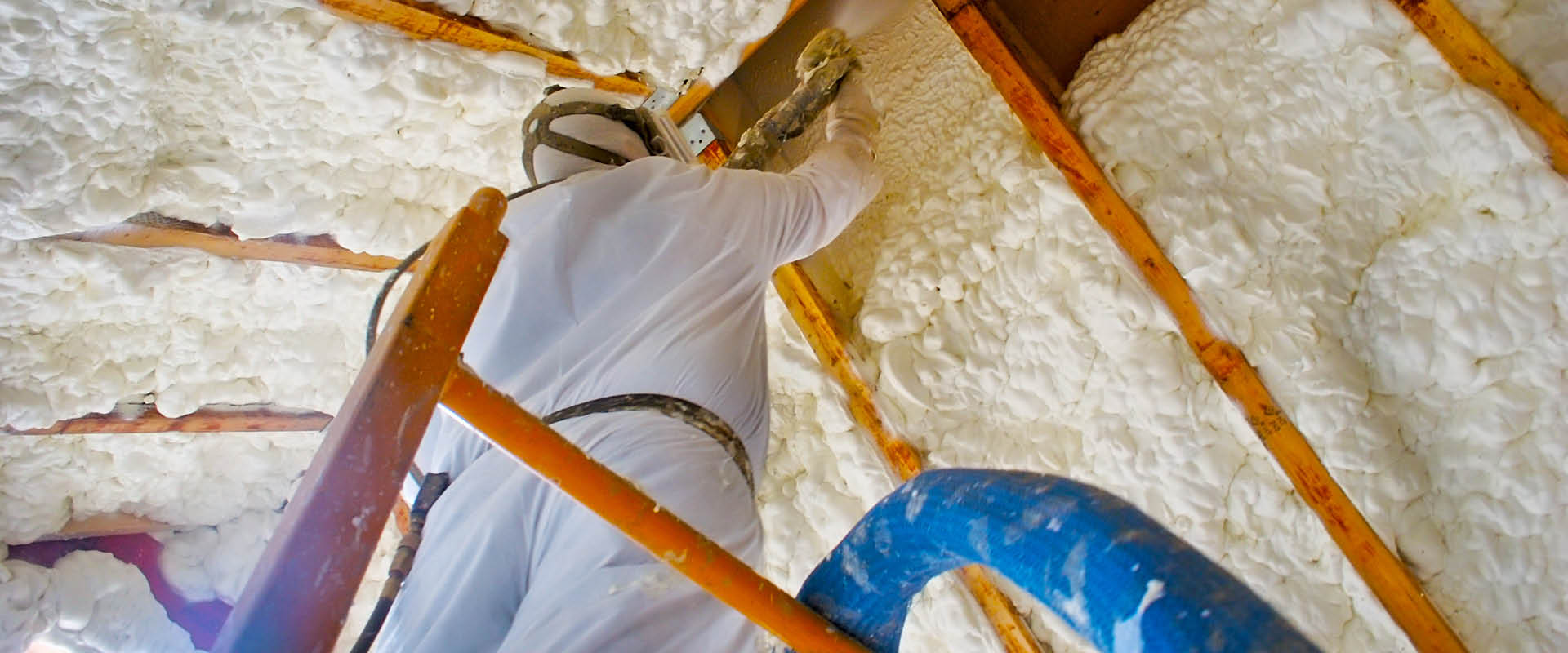 Ask us about the benefits of open cell and closed cell foam insulation