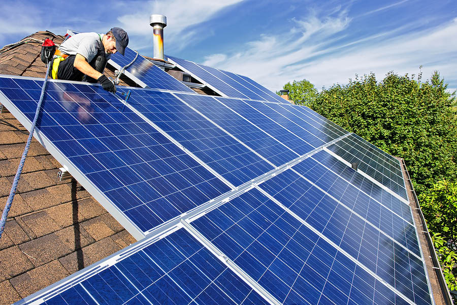Geothermal Energy Options installing solar panels in Hudson Valley, NY