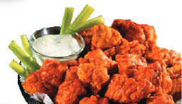 Delicious juicy chicken wings with our own special recipe