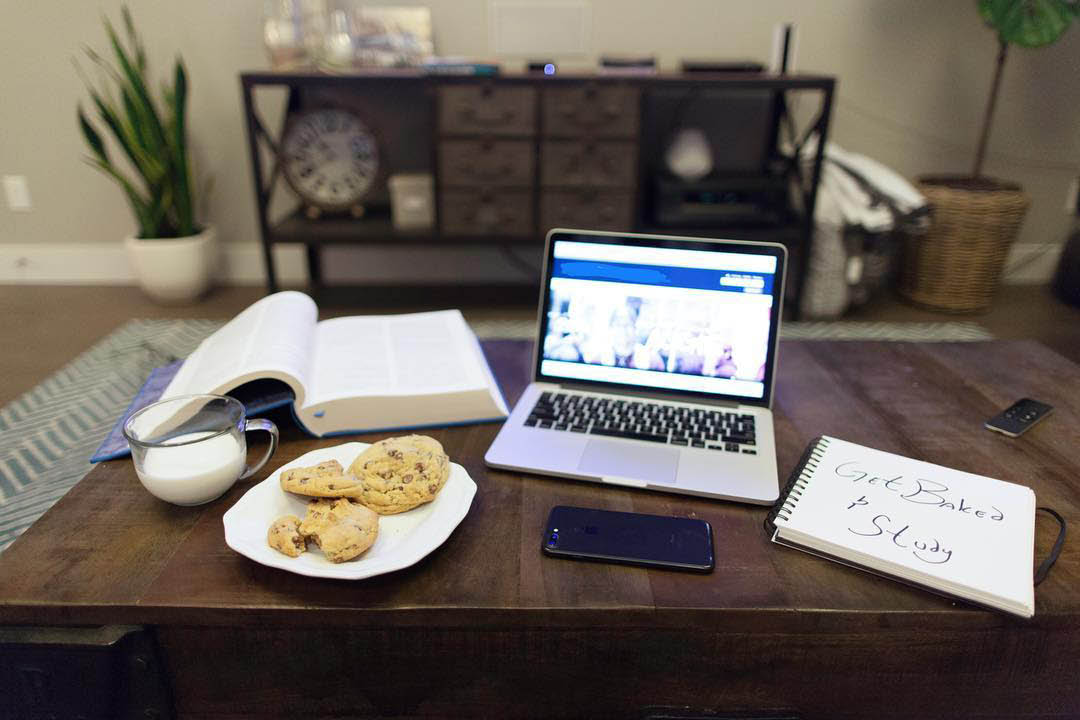 BAKED Cookies make a great snack for studying. We'll even deliver them! Rexburg, Madison County, Idaho.