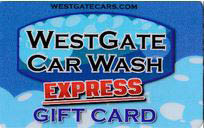 Get a gift card for a car wash near Millbrook, NC