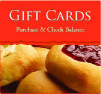 Restaurant Gift Cards available for Kolache Factory restaurant