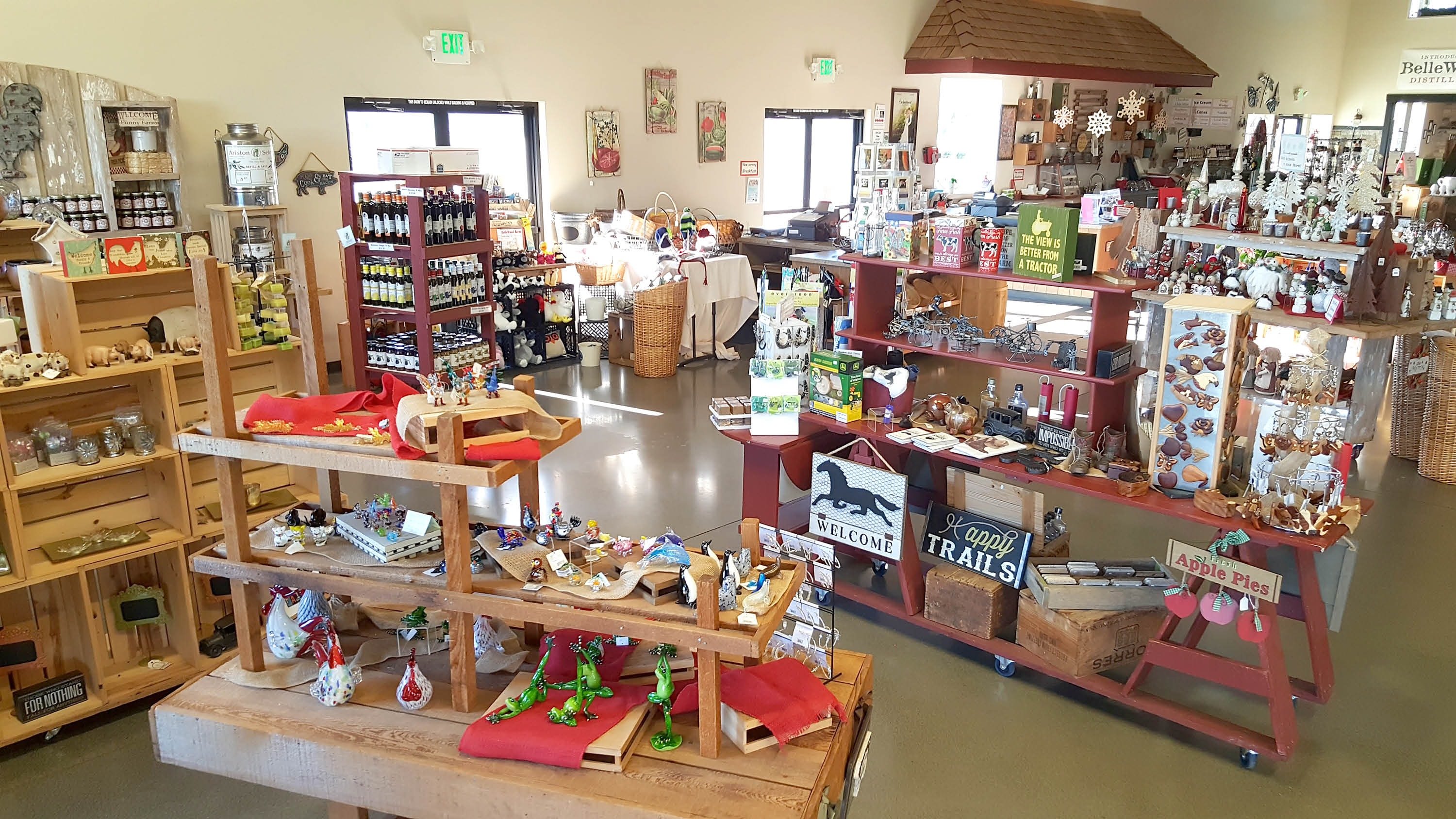 Bellewood acres cafe and farm lynden gift shop