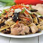 Kiin Imm Thai Restaurant, Ginger Blossom Stir Fry, Vienna, VA