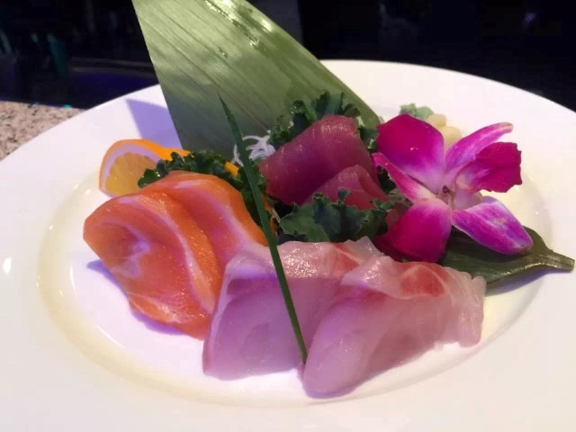 Ginza sushi chefs plate the perfect sushi and sashimi presentation