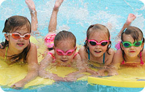 Swimtastic swim school in Franklin Wis servicing all the surrounding cities is a great place for barthday parties