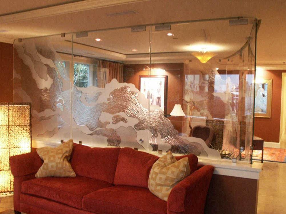 Stunning glass walls from Glassman Inc in Sumner, WA