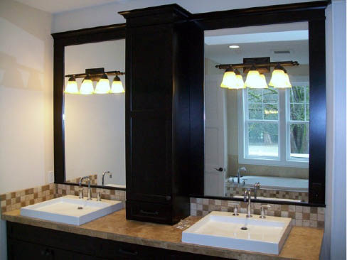 Glassman Inc. glass and mirrors installed beautifully and professionally - Sumner Washington