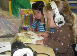 Picture of kids learning at Glendale Heights in Fox Point.