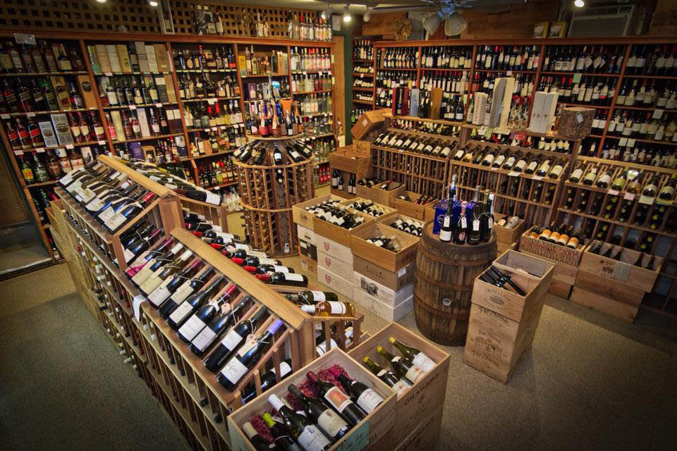Wines and craft beer sourced from all over the world.