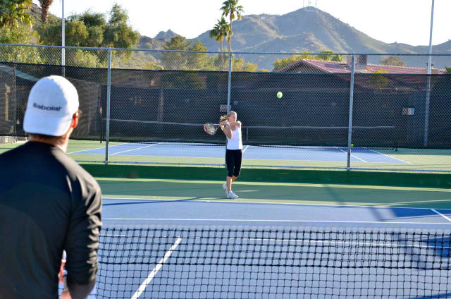 Gold Key Racquet Club the best tennis club in phoenix active tournaments and practices