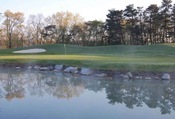 Golf Course, Country Club, Golfing, Pond, Course, Hole, Water, Lake
