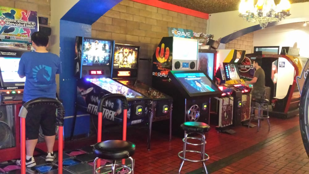 Have fun with an assortment of arcade games at a Golfland near you.