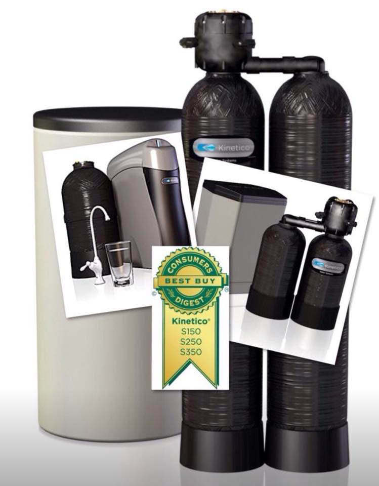 Gordon Water Systems are authorized dealers of Kinetico Water Filtration Systems