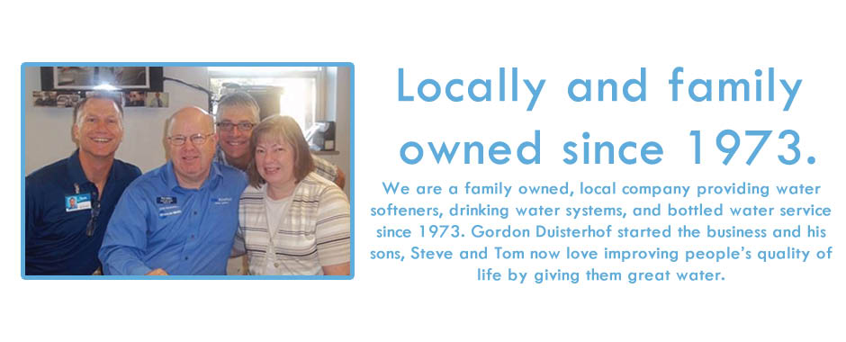 Gordon Water Systems is a family owned water softener company in Grand Rapids MI