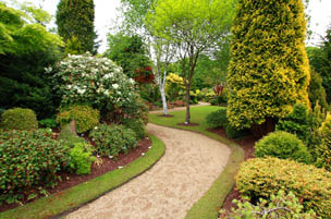 Gorgeous landscaping from True Design Lawn & Landscape in Graham, WA