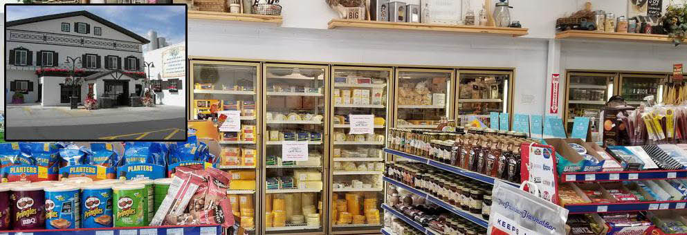 Gossner Store: Cheese, Shelf-Stable-Milk, Butter, and Ice Cream.