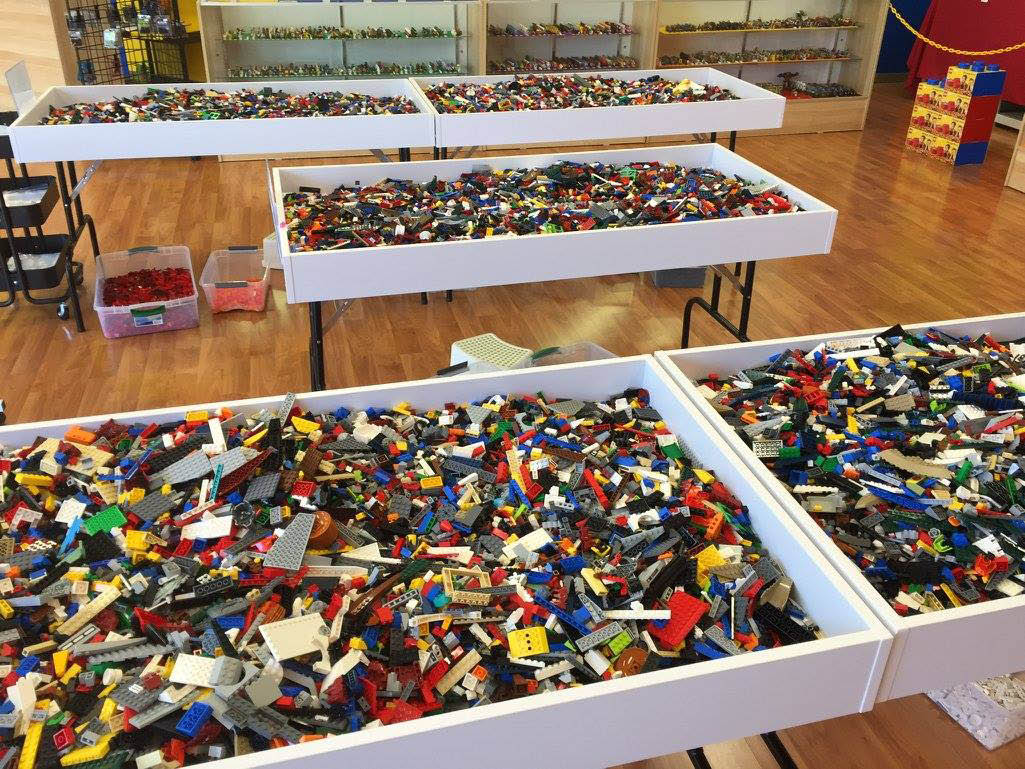 Bricks & Minifigs Concord not only buys full sets, but bulk as well!